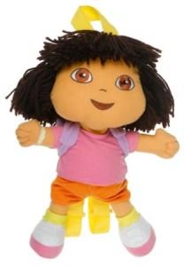 dora the explorer backpack doll